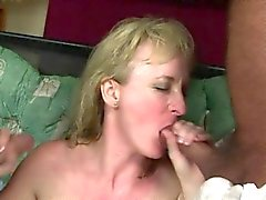 Busty ev hanımıydı oral double