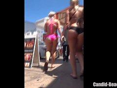 Big Ass Thong Bikini Amateur Babes Voyeur HD Video