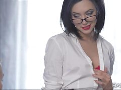 Secretary Sheris promotional hot office sex