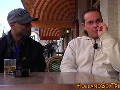 Dutch hooker rides bbc