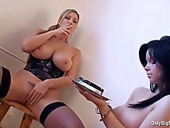 Carol Goldnerova Dominates Busty Ellen