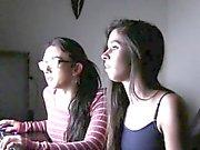 Facialized teens swap cum