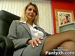 Naughty atractivo Hot In desagradable Pantyhose XXX