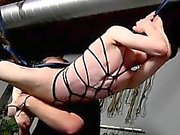 Gay hairy bondage porn Master Sebastian Kane has the jummy A