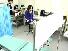 Pretty Oriental girl has a horny doctor deeply banging her