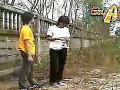 Thai Jungs Geniessen Sie ein Stück Anal Massage