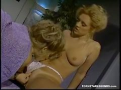 Young pornstar Jill Kelly fucked in a threeway with Sindee