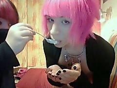 Hot Bunny Boy Cum Eating Sweet Sexy