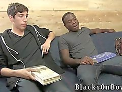 Billy Eastmore Gets His First Black Cock