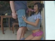 Mega Busty Thai Girls Sucking Monster Cock