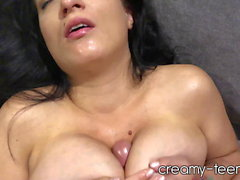 Teen gfs older milf sister titty fucks me till I cum