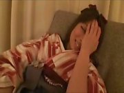 Asian babe Yukimi Says gets toyed and then eats his cock before fucking