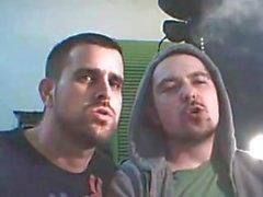 Rauchen und Kissing - 4 min