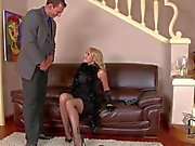 Kathia and Samantha enjoy in roleplay threesome