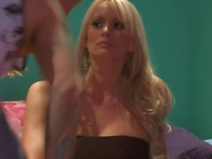 Lovely Stormy Daniels turns guy on