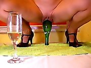 Container Of Wine in russian partner that is pussy