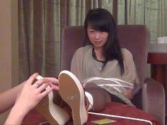 Asya Külotlu çorap Tickling