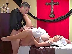 Italian mom and son riding creampie