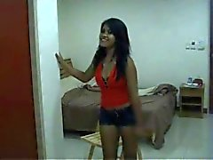 Sexy thai in de kamer