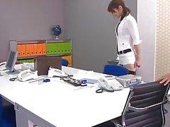 Legendas - Beautiful Maki Hojo fodido duro no escritório