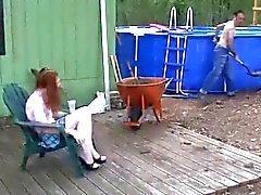 Мальчик или девочка худой бледный Redhead