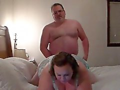 BBW creampied gets ve o kedi yedim