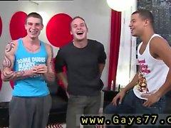 Straight dude isst cum Homosexuell xxx Suck, dass Dick, Cage Forderungen.