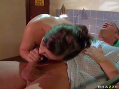 Naughty Brooke Lee Adams getting fucked by Danny Mountain
