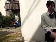 Asian schoolgirls upskirt