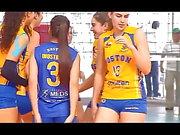 Voleibol chileno - Boston College gegen Club Mortem