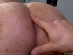 DylanLucas Locker Twink Scores Hairy Dad