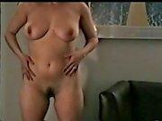 m2c1 mateur swinger wife Josie strips 1