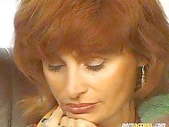 Wanda Lynn Baird Kızıl saçlı Milf ve 2. Erkekler