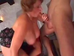 Great Cumshots on Big Tits 53