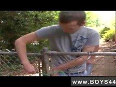 Mein Haustierjunge Homosexuelles Jesse Bryce das cockhungry Stück