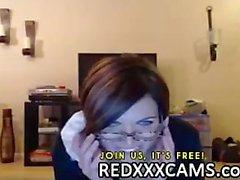 Heiße Teen fingern saftige Pussy und anal spielen im Live- Webcams zeigt Leake