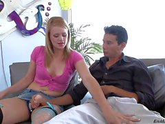 Girls with strapons Heather Starlet and Holly Michaels are ready for some fun