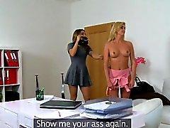 FemaleAgent Agent liebt sexy heiße Blondinen Figur