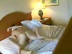 Leuk stel in een hotel