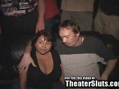 Big Ass Titties di Latina Nomi Gang scopato nella Porno del teatro !