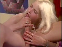 Incredible vintage sex star in classic sex scene