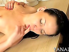 Chick experiences hardcore wet crack and ass banging