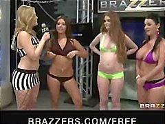 Jynx Maze Sofía Dee Gracie Glam , y Fay Reagan de comer y bange