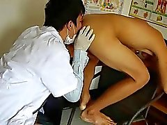 Nasty Doctor Tastes The Cock And Ass Of Patient