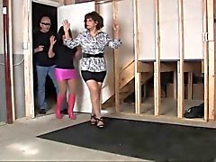 MILF office girls bound and gagged