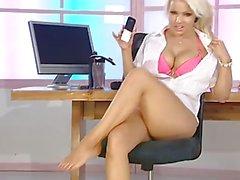 Électre collants de latex et le pied fétiche
