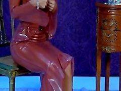 Jenny Poussin frei - Latex -Leuchter