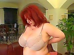 Aikuinen BBW - Blanka saada vitun sohvalla