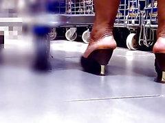 Olgun ayaklar topuklu katır
