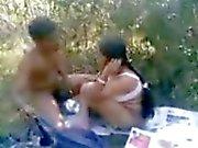 Busty Northindian Aunty having fuck with Boyfriend